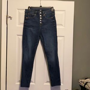 Gap hi rise jeans